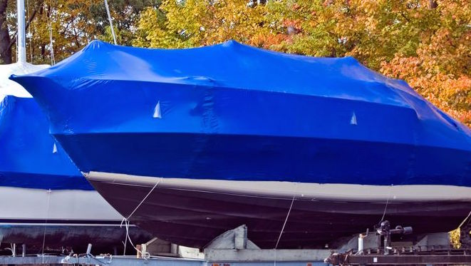 unwrap a boat